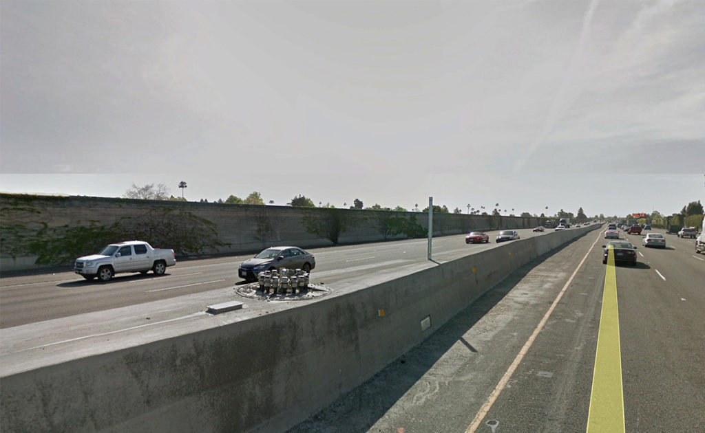 I-880 Express Lane & Median Barrier Replacement 1