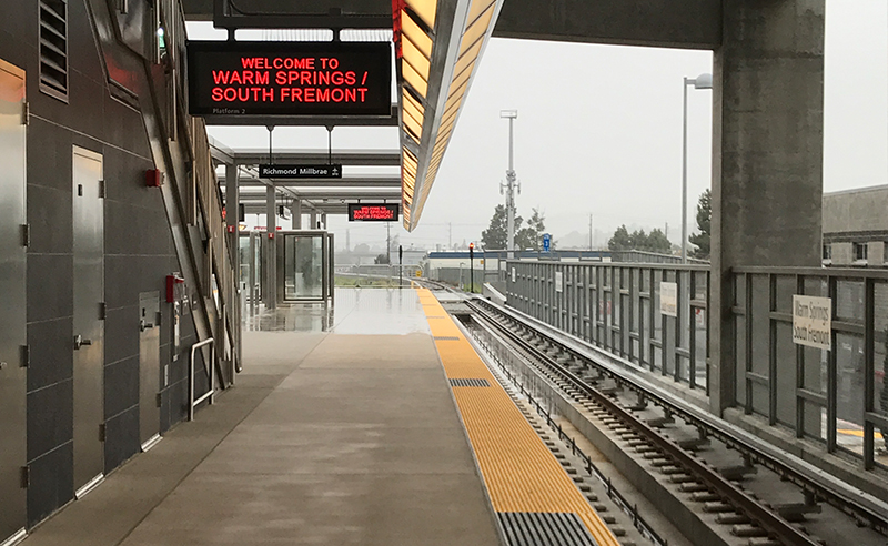 BART Warm Springs Extension 2