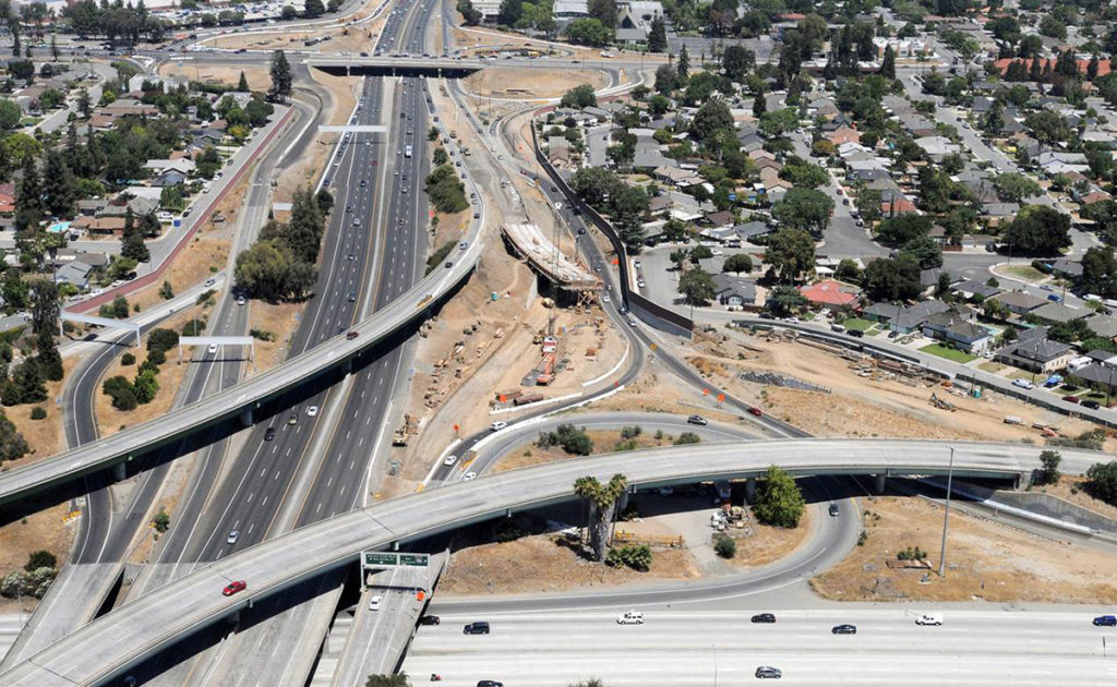 280/880/17 Stevens Creek Road Interchange Improvements 1