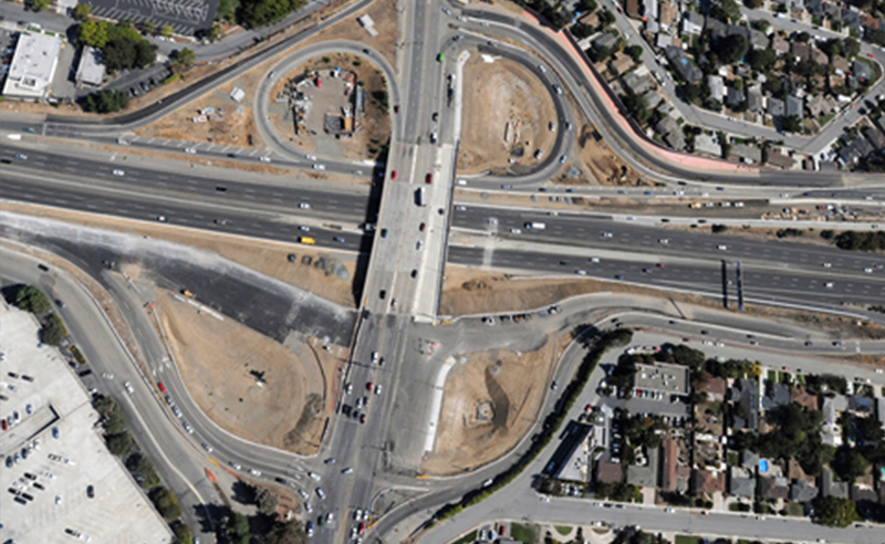 280/880/17 Stevens Creek Road Interchange Improvements 2
