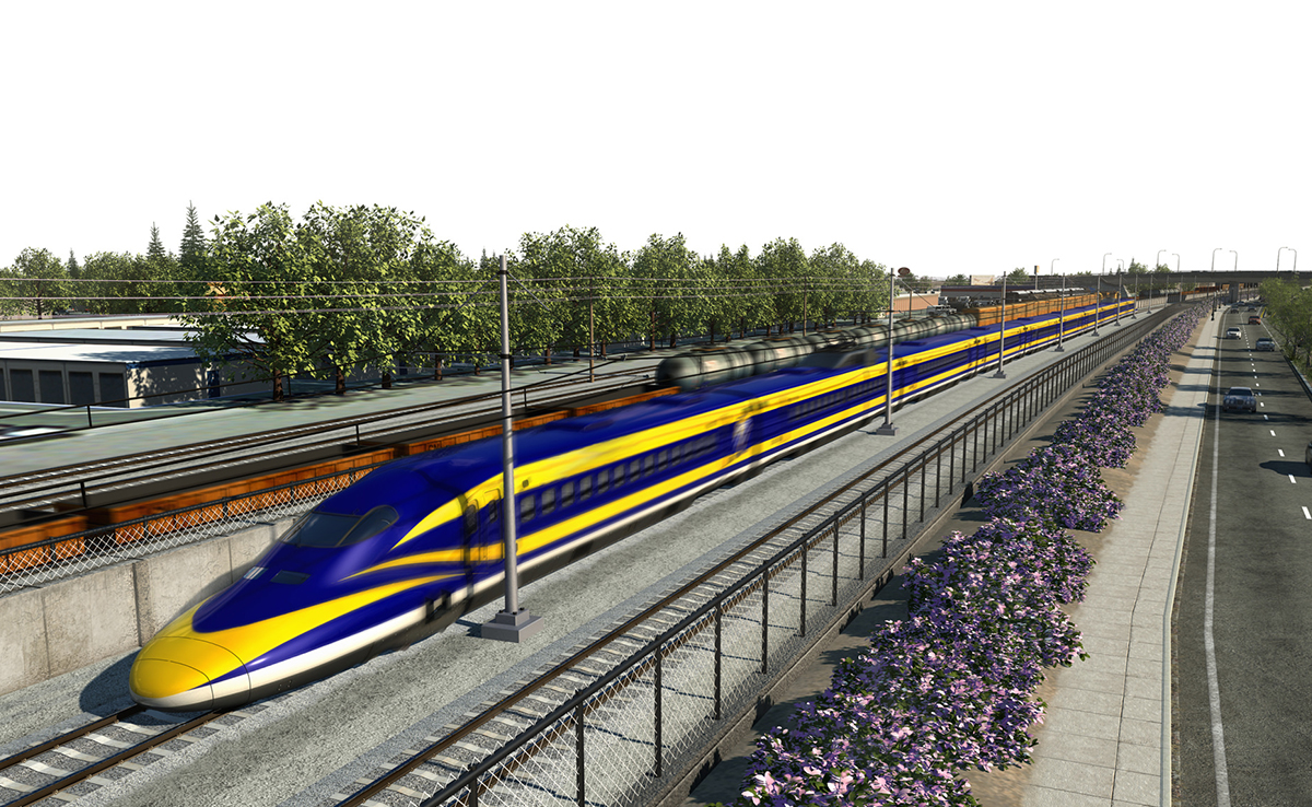 California High-Speed Rail Construction Package 2-3 1