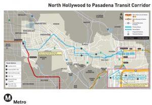 North Hollywood to Pasadena BRT Corridor P&E Study, Los Angeles County, CA 1