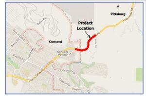 Kirker Pass Truck Climbing Lane, Contra Costa County, CA 2